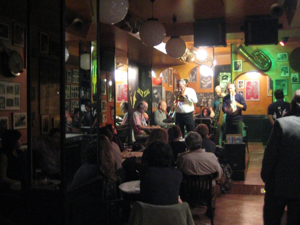 cafe jazz madrid